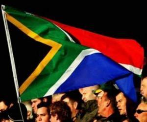 Flagge von Südafrika puzzle