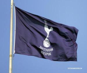 Flagge von Tottenham Hotspur F.C. puzzle