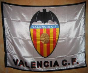 Flagge von Valencia C.F puzzle