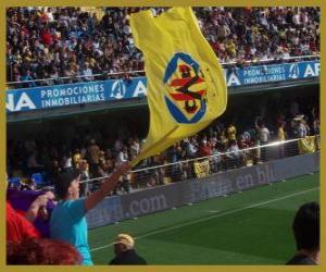 Flagge von Villarreal CF puzzle