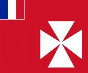 Flagge von Wallis und Futuna puzzle