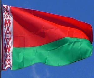 Flagge Weißrusslands puzzle