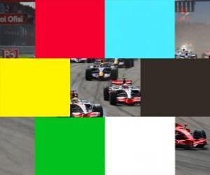 Flaggen Farben F1 puzzle