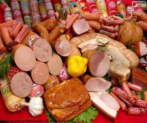 Fleischerzeugnisse puzzle