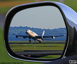 Flugzeug abheben puzzle