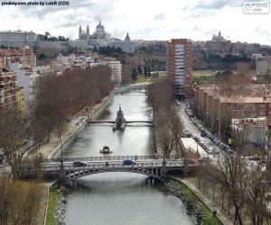 Fluss Manzanares, Madrid puzzle