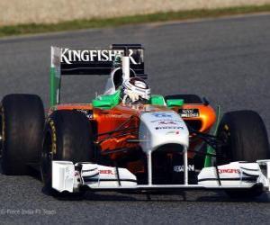 Force India VJM04 - 2011 - puzzle