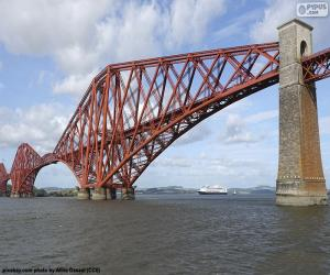 Forth Bridge, Schottland puzzle