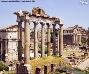 Forum Romanum, Rom puzzle