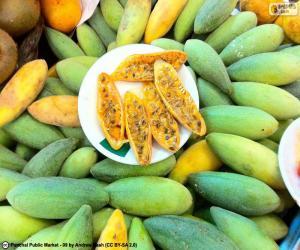 Früchte von curuba puzzle