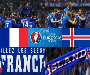 FR-IS Viertelfinal Euro 2016 puzzle
