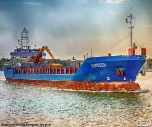 Frachtschiff puzzle