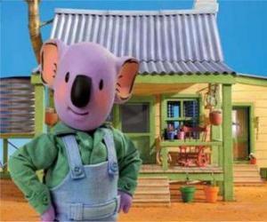 Frank ist einer der Australian Koala Brüder puzzle