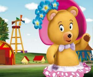 Frau Tubby Bär der Nachbar von Noddy puzzle