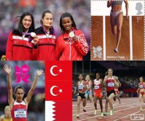 Frauen 1500 Meter London 2012 puzzle