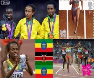 Frauen 5000m London 2012 puzzle