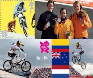 Frauen BMX Radfahren London 2012 puzzle