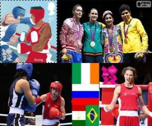 Frauen Leichtgewicht Boxen London 2012 puzzle