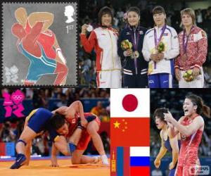 Freistil bis 63 kg London 2012 puzzle