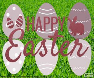 Frohe Ostern puzzle