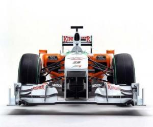 Frontansicht Force India VJM03 puzzle