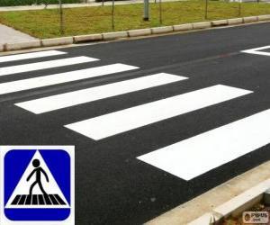 Fußgängerüberweg puzzle