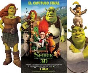 Für immer Shrek puzzle