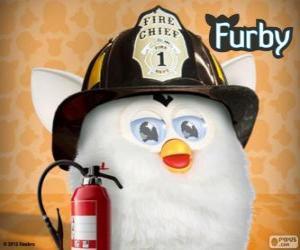 Furby Feuerwehrmann puzzle