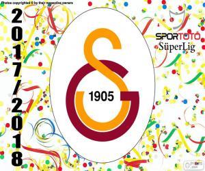 Galatasaray Istanbul, Süper Lig 2017-2018 puzzle