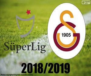 Galatasaray, Meister 2018-2019 puzzle