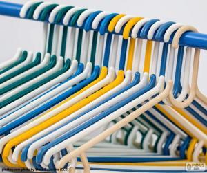 Garderobe Kleiderhaken puzzle
