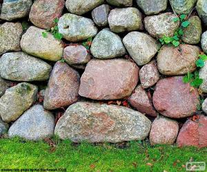 Garten Steinmauer puzzle