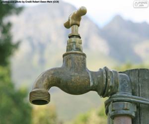 Garten Wasserhahn puzzle