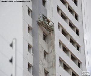 Gebäude im Bau puzzle