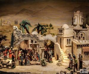 Geburt Jesus Krippe puzzle