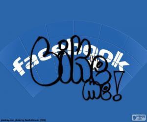 Gefällt mir, Facebook puzzle