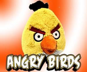 Gelb Vogel (Yellow Bird) wirkt gegen die Strukturen und verursacht große Schäden puzzle