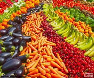 Gemüsehändler puzzle