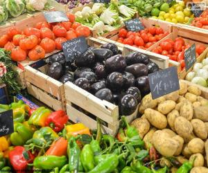 Gemüsemarkt puzzle