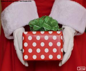 Geschenk des Weihnachtsmannes puzzle