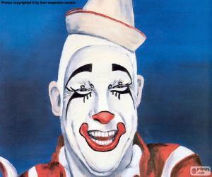 Gesicht des Clowns puzzle