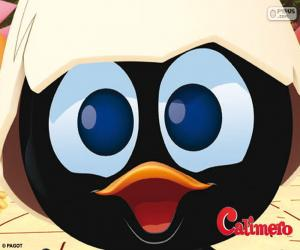 Gesicht von Calimero puzzle