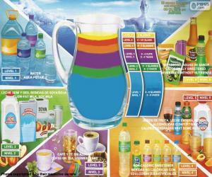 Gesunde Getränke-Richtlinien puzzle