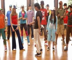 Gesungen Shane Gray (Joe Jonas) das tanzen von grad, das nachgibt puzzle