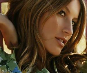 Gisele Bündchen, brasilianische Schauspielerin und model puzzle