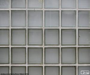 Glas-Block-Mauer puzzle