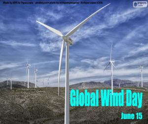 Global Wind Day puzzle