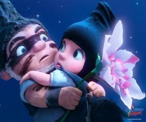 Gnomeo und Julia, in einer Szene aus dem Film puzzle