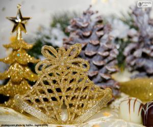 Goldene Weihnachten Kampagnen puzzle