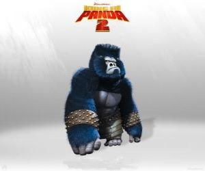 Gorillas sind die Muskeln in der Armee des Lord Shen puzzle